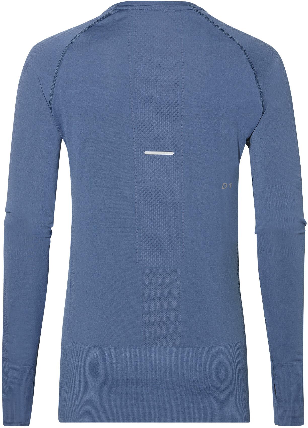 4b0412a8cac asics Seamless - T-shirt manches longues running Femme - bleu ...